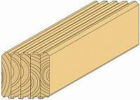 Строительный стеновой брус