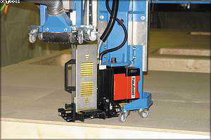 Рис. 4. Неиспользуемый агрегат поднимается вверх, освобождая пространство для используемой в данный момент техники