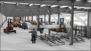 Проектирование производства в 3DAutomate