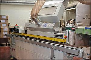 Автоматический односторонний кромкоблицовочный станок CEHISA Rapid EP-7 (Испания)