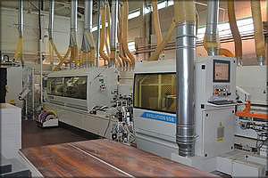 Промышленный форматно-кромкоооблицовочный станок Stefani Evolution SSB (SCM Group)