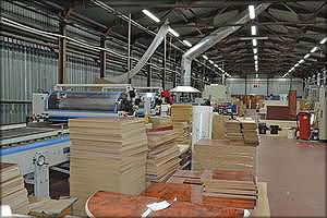 Лакокрасочный цех мебельной фабрики «Дана»