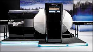 Сканер WoodEye 5 с рентгеном (впервые был представлен на Ligna 2013)