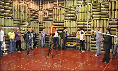 Лаборатория акустики, вибрации и анализа уровня пыли