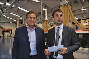 Паоло Ломбардини и Борис Чернышев