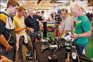 Стенд компании Revotool на выставке Holzmesse-2014