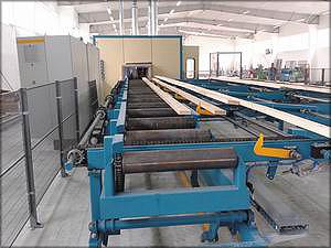 Головное оборудование ЧУП «Городник» – линия Ledinek для производства 10–14 тыс. куб м клееных конструкций в год