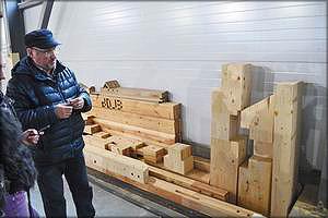 Элементы для деревянного домостроения