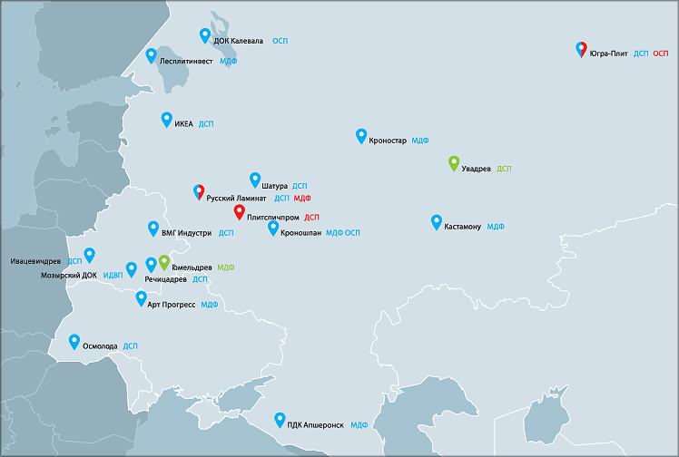 Siempelkamp в России, Беларуси и на Украине