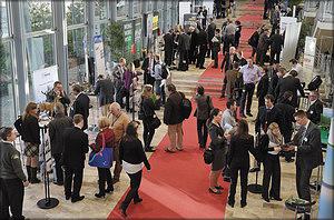 Общение участников предстоящей выставки Ligna с представителями мировой отраслевой прессы