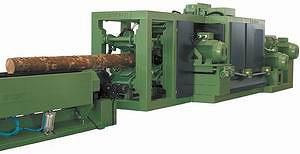 Фрезерно-профилирующий станок для длинных бревен Canter Group 450 L