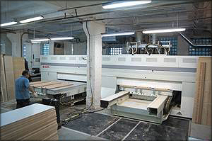 Трехшпиндельный обрабатывающий центр Ergon NT (SCM Group)