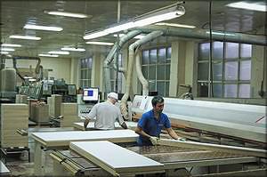 Раскроченый центр Sigma Impact (SCM Group) для раскроя плит