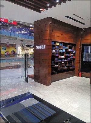 Интерьер магазина Riggi