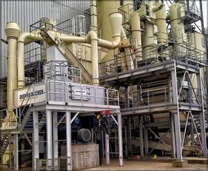 Система мокрой очистки отходящих газов производства компании ceATec