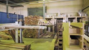 Склад древесного сырья