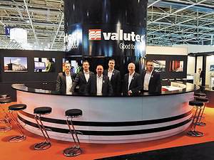 Стенд компании Valutec