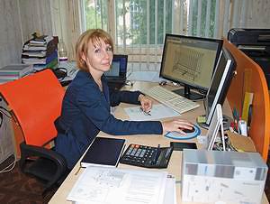 Главный технолог предприятия Елена Пыстина