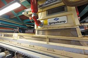 Пресс Siempelkamp для производства MDF