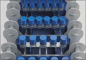 Цилиндры давления со смещенным расположением для ровной поверхности плиты