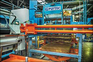 Оборудование Plytec для автоматической наборки пакетов