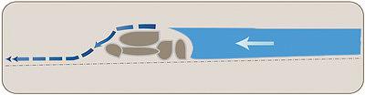 Рис. 5. Гаситель для предотвращения выноса грунта водным потоком со дна канавы