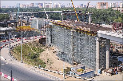 Бусиновская развязка над МКАД, Москва