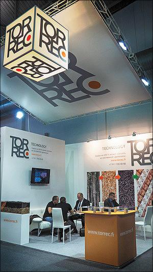 Стенд компании Torrec