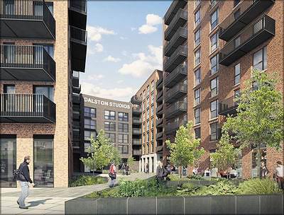Так будет выглядеть Dalston Lane