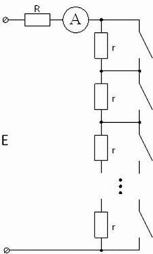 Рис. 11. Схема прибора на основе амперметра
