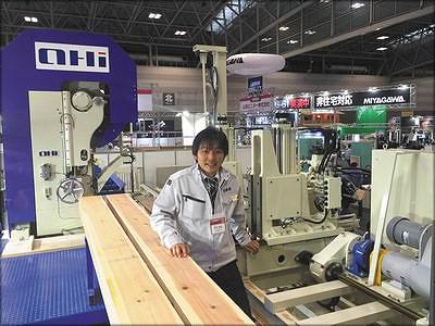 Хидеюки Танака, президент компании OI Seisakusho