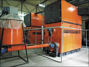 Энергетическая установка – утилизатор древесных отходов