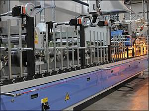 Автоматическая линия по склейке композитных заготовок
