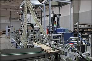 Автоматическая линия ламинирования царг