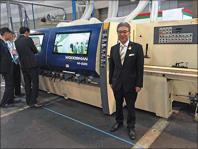 Президент компании Iida Kogyo Ltd Маретака Имото