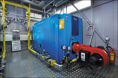 Котельная установка Buderus на жидком топливе