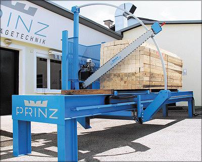 Стационарная установка PRINZ MOBILCUT comfort для торцевания пакетов