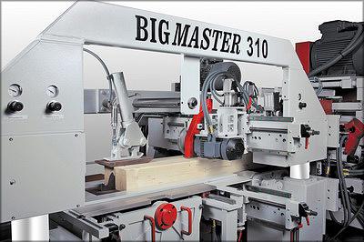 Мощный строгальный станок REX BIGMASTER 310 для обработки бруса