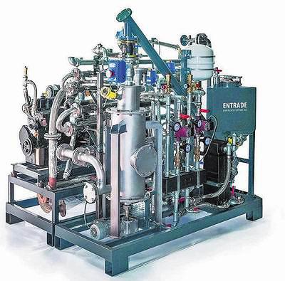 Модульная газогенераторная установка Entrade мощностью 25 кВт