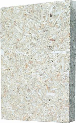 Рис. 2. Плиты германской компании Elka-Holzwerke, которые предлагаются под маркой ESB, являются типичным примером конструкционной древесно-стружечной плиты OPB