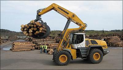 Погрузчик с верхним захватом Liebherr L580 Log Handler