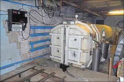 Камера для термической модификации древесины