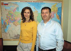 Екатерина Аришина и Дмитрий Перцовский