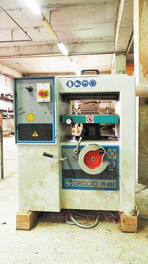 Рейсмусовый станок Griggio PS400E