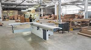 Столярный комплекс предприятия Форматно-раскроечный станок Robland Z-3200 (Бельгия)