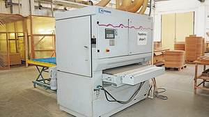 Шлифовально-калибровальный станок широколенточного типа Butfering (Homag Group, Германия)