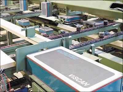 Рис. 6. Установка Viscan Plus на заводе компании Rubner Holzundustrie