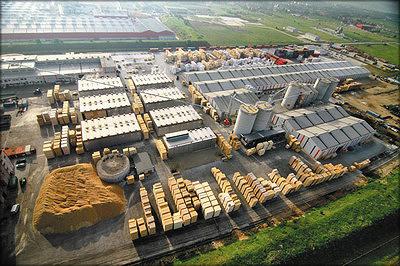 Рис. 1. Сушильные камеры периодического действия на заводе компании Schweighofer (Австрия)