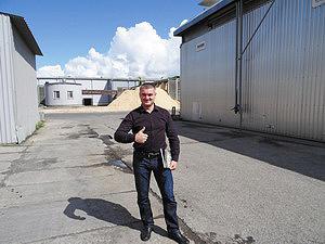 Вячеслав Резанов, директор ООО «Соломенский лесозавод»