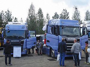 Лесовозы Scania